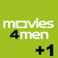 Movies4Men +1 logo